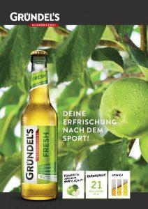 Gründel's FRESH Produktblatt