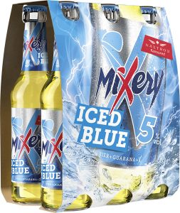 MiXery NF iced blue Sixpack