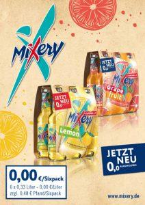 MiXery alkoholfrei Handelsanzeige