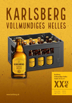 Handelsanzeige Vollmundiges Helles – Kiste