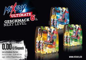 MiXery Handelsanzeige Ultimate  Sixpacks quer