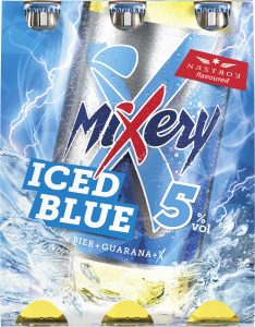 MiXery NF iced blue Sixpack (Frontal)