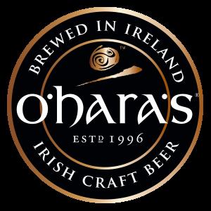 O'hara's Logo rund (schwarz)