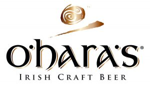 O'hara's Logo Irish Craft Beer (weiß)