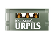 UrPils Kiste 20x 0,33l Stubbi frontal
