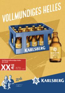 Handelsanzeige Vollmundiges Helles Stubbi A4 hoch