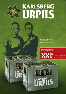 UrPils Handelsanzeige Kisten 0,5l & 0,33l LN