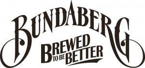 Bundaberg Logo Brewed to be better braun