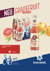 Handelsanzeige Grapefruit A5 quer