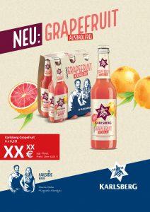 Handelsanzeige Grapefruit A4 hoch