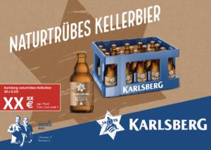 Handelsanzeige Kellerbier Stubbi A4 quer