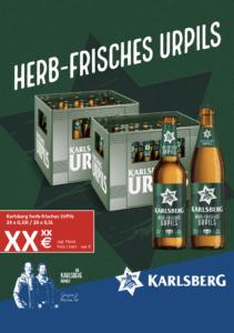 Handelsanzeige UrPils Longneck + NRW A4 hoch