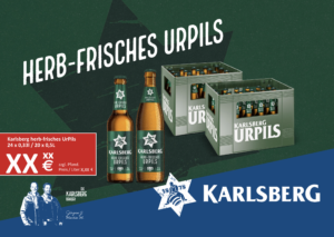 Handelsanzeige UrPils Longneck + NRW A5 quer