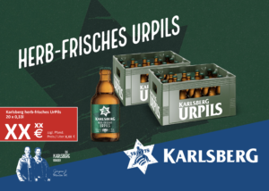 Handelsanzeige UrPils Stubbi A5 quer