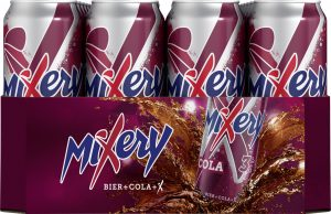 MiXery Cola Dosentray 24 x 0,5l (Frontal)