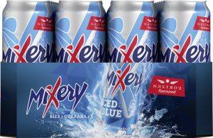 MiXery iced blue Dosentray 24 x 0,5l (Frontal)