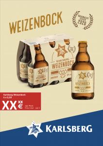Handelsanzeige Weizenbock Sixpack A4 hoch
