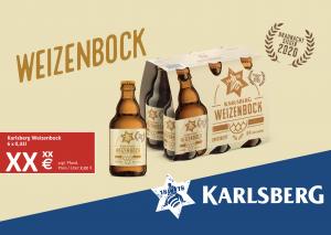 Handelsanzeige Weizenbock Sixpack A5 quer