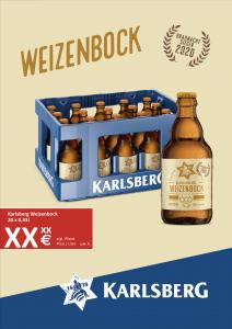 Handelsanzeige Weizenbock Kiste A4 hoch
