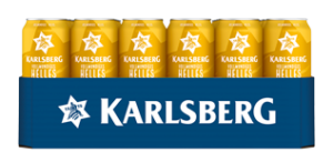 Helles Dosentray 24x 0,5l (Frontal lange Seite)