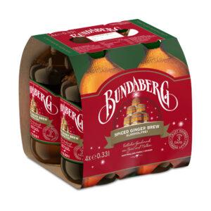 Bundaberg 4-Pack Spiced Ginger